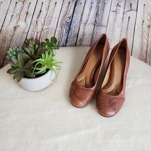 EUC Nurture Wedge Heel Slip On Shoes